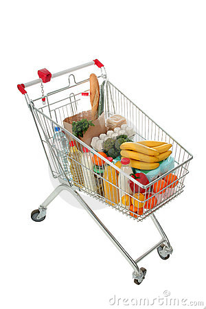 Free Shopping Cart Royalty Free Stock Images - 702449
