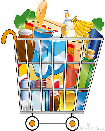 Free Shopping Cart Stock Images - 7225264