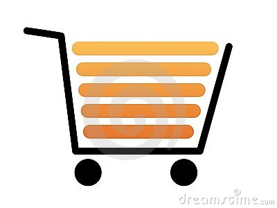 Shopping Cart Black