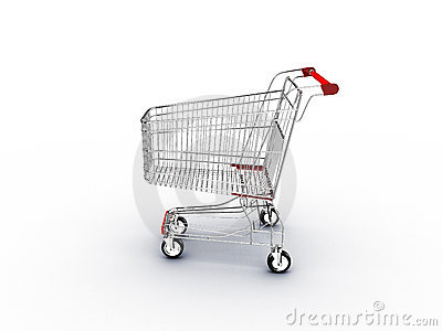 Shopping Cart Supermarket Stock Photos - Image: 3232733