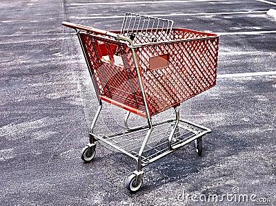 Shopping cart sureal HDR