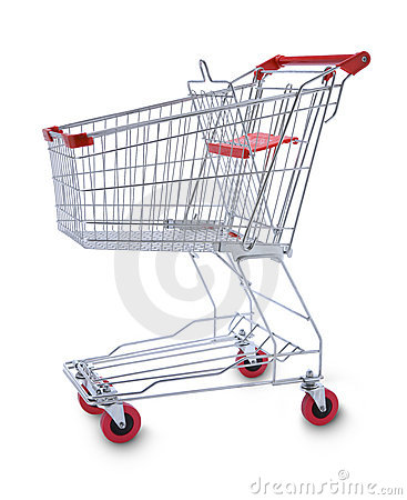 Free Shopping Cart Trolly Stock Images - 12095714