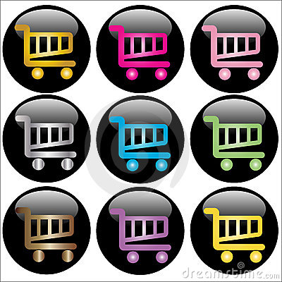 Shopping Cart Web Buttons
