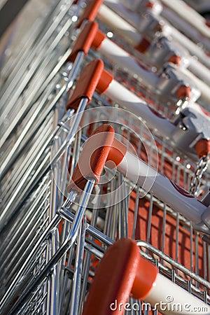 Free Shopping Carts Royalty Free Stock Image - 11324516