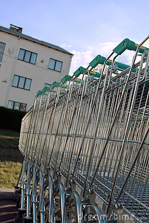 Free Shopping Carts Stock Images - 1497164