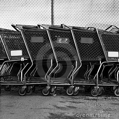 Free Shopping Carts Stock Image - 19224641