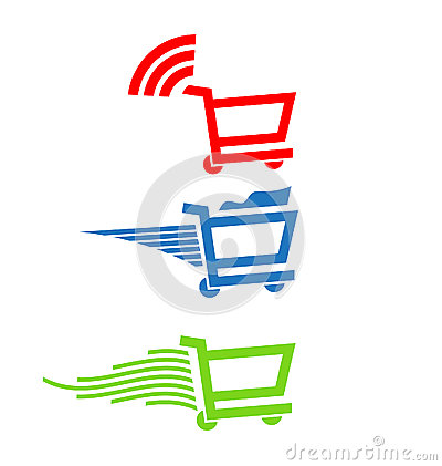 Shopping carts Logo