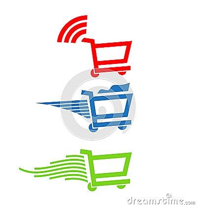 Shopping carts Logo