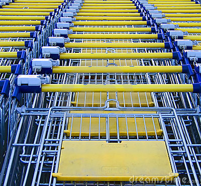 Free Shopping Carts Stock Photo - 4460430