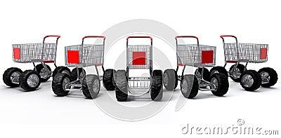 Shopping carts group