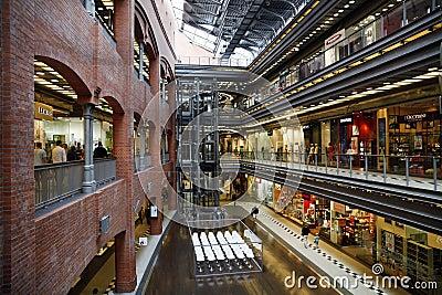 Shopping center Editorial Stock Photo