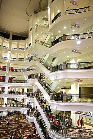 Free Shopping Center Royalty Free Stock Images - 270069