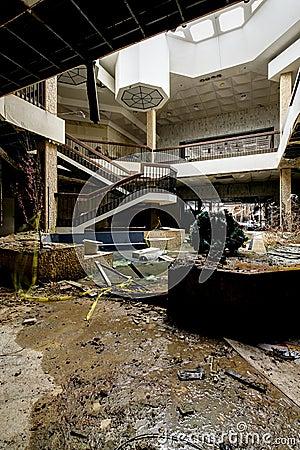 Free Shopping Center - Abandoned Randall Park Mall - Cleveland, Ohio Stock Image - 109821281