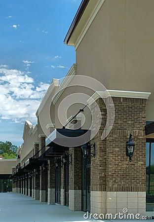 Free Shopping Center Construction - 2 Stock Photo - 1584640