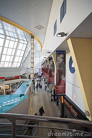 Shopping centre (mall) Editorial Photo
