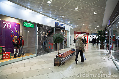 Shopping centre (mall) Editorial Image
