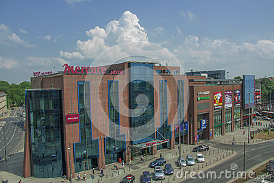 Shopping Centre in Wroclaw Editorial Photo