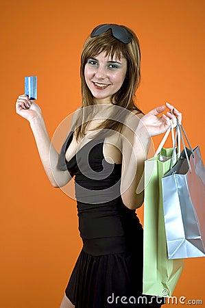 Shopping craze