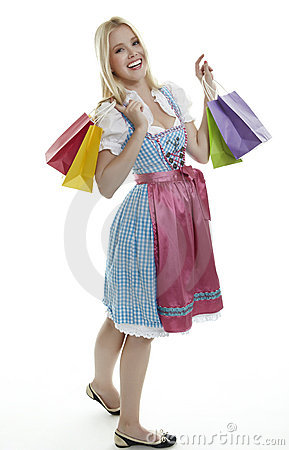 Shopping Dirndl