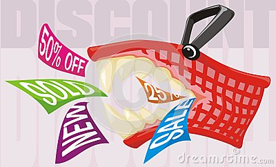A shopping expedition - end of season sale