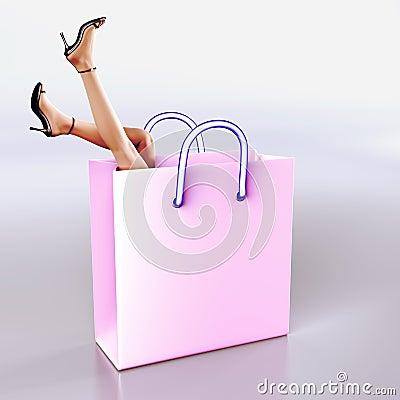 Free Shopping Fantasy Royalty Free Stock Photo - 1846265