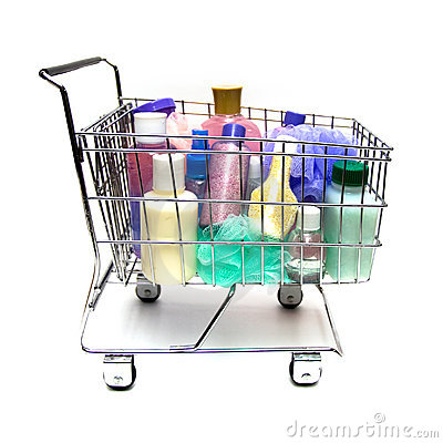 Free Shopping For Beauty Products Royalty Free Stock Photo - 8013465