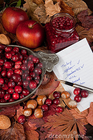 Free Shopping For Thanksgiving Day Royalty Free Stock Photos - 15930418