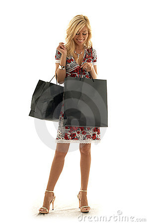 Free Shopping Girl Stock Photography - 1111672