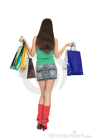Free Shopping Girl Stock Images - 1850294