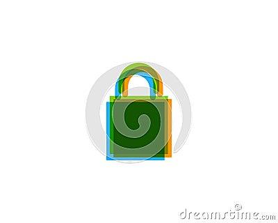 Shopping Icon Logo Design Element Vector Illustration