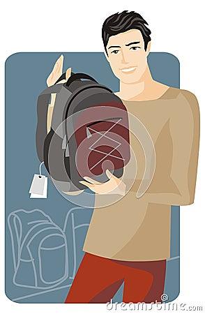 Shopping illustration series