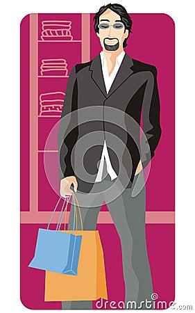 Free Shopping Illustration Series Stock Photo - 2512830