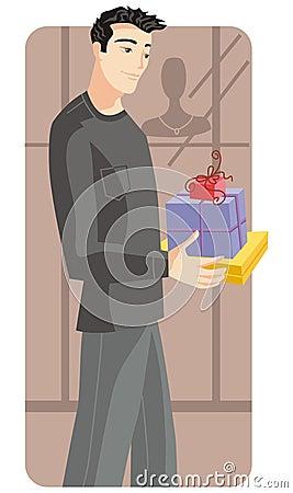 Free Shopping Illustration Series Royalty Free Stock Image - 2514896