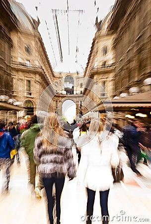 Free Shopping In Milan Stock Photos - 24367073