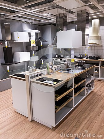 Shopping for kitchen Editorial Image