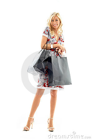 Free Shopping Lady 2 Royalty Free Stock Image - 1476696