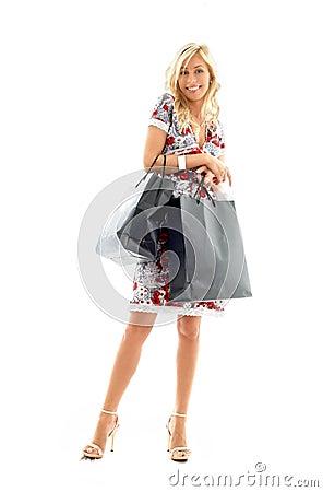 Shopping lady #2