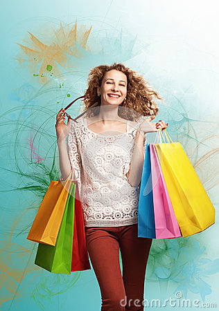 Free Shopping Love Stock Image - 29586811