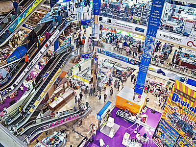 IT shopping mall Editorial Stock Photo