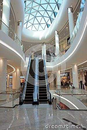 Shopping mall Editorial Stock Photo