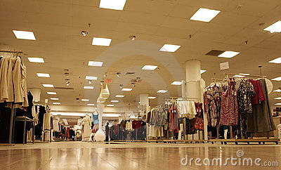 Shopping Mall Stock Photo - Image: 4014060