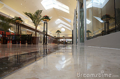 Shopping mall - bright and clean