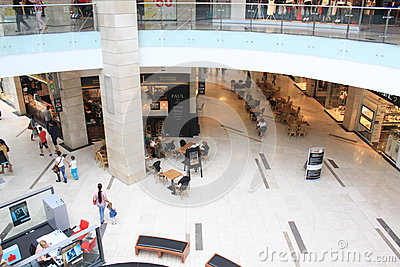 Shopping in mall Editorial Stock Image