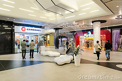 Shopping Mall Inside Editorial Photo