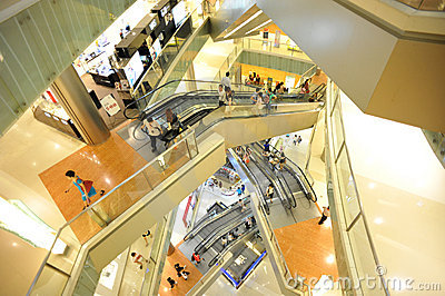shopping mall  interior Editorial Image