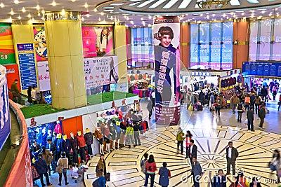 Shopping mall interior Editorial Photography