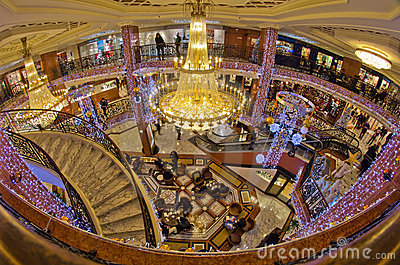 Stock image shopping mall interior monaco france image 17898541