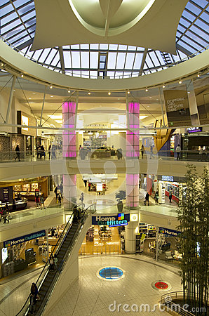 Shopping Mall Interior Editorial Photography - Image: 39812282