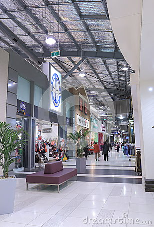 Shopping mall Melbourne Editorial Photo