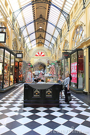 Shopping mall Melbourne Editorial Image